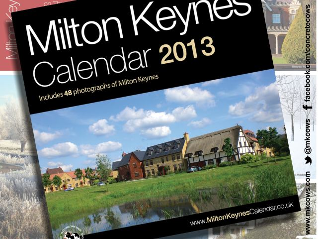 The new 2013 Milton Keynes Calendar is now available online and in Waterstone's in Milton Keynes